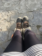 My lovely hiking boots (not a single blister!!!)