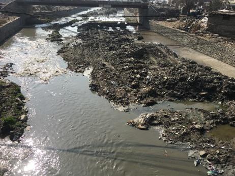 Saddest river I've ever seen