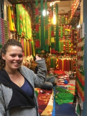 The colourful bead markets